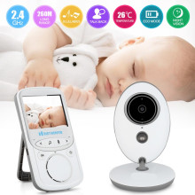 Wireless Infant Radio Babysitter Digital Video Camera Baby Sleeping Monitor Audio Night Vision Temperature Display Radio Nanny(China)