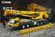 The original factory at 1:50 Model of XCMG XCT 75 ton crane Crane model Alloy model Collection model(China)