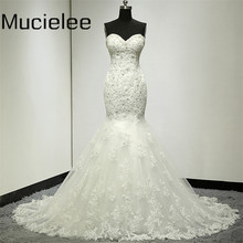 Buy Vestido De Noiva Princesa Sexy Mermaid Wedding Dress Real Photo Lace China Wedding Dress Bridal Gown Casamento for $164.00 in AliExpress store