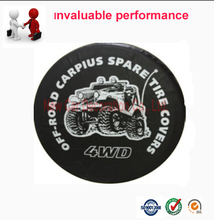 Spare Tire Cover Wholesale$Retail Universal Car PVC Spare Wheel Cover 14'' 15'' 16'' 17'' Wheel Accessories(China)