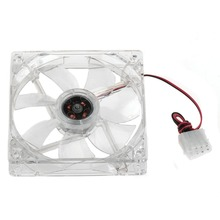 Pc Computer Fan 120mm With 4 Led 12025 12cm Silent DC 12V LED Luminous Chassis 4D Plug Axial Fan A2 Style P0.16