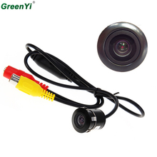 Mini Waterproof Car Parking Assistance Reversing Back Rear View Camera, HD CCD Image Sensor Rearview Camera 3 Camera For Option(China)