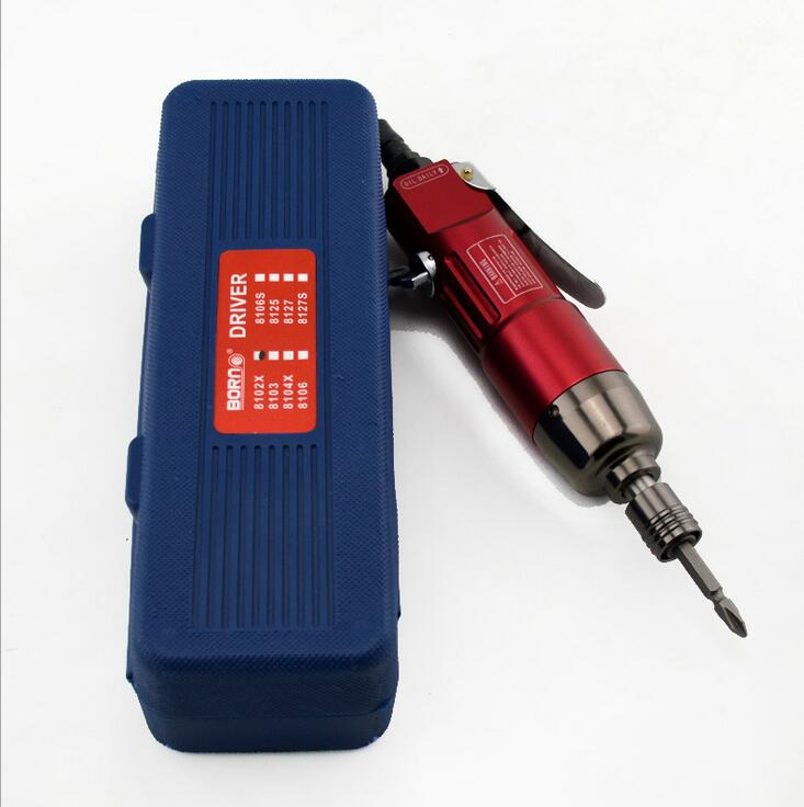 Wholesale and retail 8102X Straight type pneumatic screwdriver Professional pneumatic tools Positive inversion speed regulation<br>