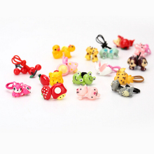 New Arrival styling tool cute animals Elastic Hair Bands accessories make you Beautiful used by women young girl and children(China)