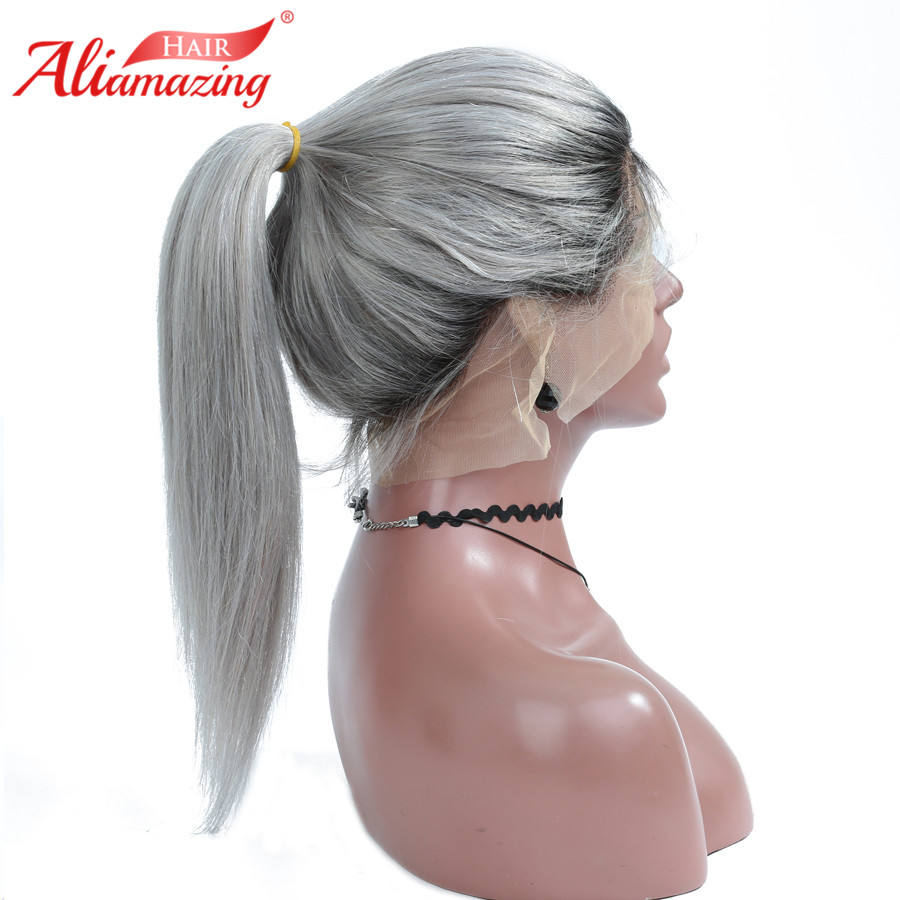 grey lace front wig 2