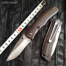 MARS MADAM Free shipping sharp high quality Folding Knife Tactical Pocket Knife door survival tools Exquisite gift