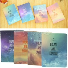 New Fantastic Star Sky A6 Notebook Diary Book Exercise Composition Notepad Hot(China)
