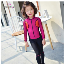 New Brand Rash Guards For Girls High Quality Quick Dry Swimming Suits Kids Professional Sport Surfing Clothes Swim Bathing Suits