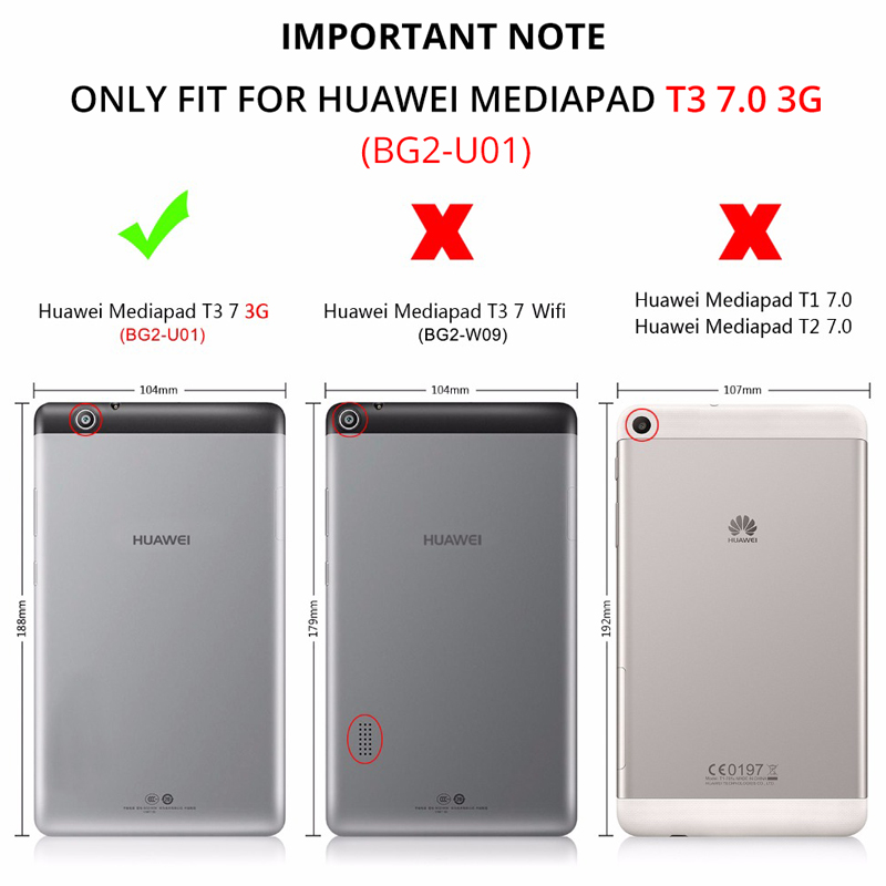 9H Tempered Glass for Huawei MediaPad T3 7.0 3G BG2-U01 Tablet Screen Protector Film Tempered Glass for Huawei MediaPad T3 7 3G