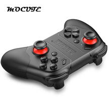 MOCUTE 053 Wireless Bluetooth Gamepad PC Game Controller for Smartphone TV Box for iOS Android Phone Laptop for VR 3D Glasses(China)