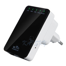 Wireless Wifi Router AP Repeater Booster Amplifier LAN Client Bridge IEEE 802.11 b/g/n 300Mbps EU Plug Wi-fi Roteador