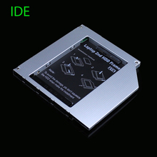 [Free DHL] Full Aluminum 9.5mm IDE to SATA Second HDD Caddy 2.5'' SATA 2nd HDD Caddy for Laptop High Quality - 30pcs