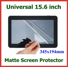 "5pcs 15.6"" Matte Protective Film for Laptop PC LCD Monitor Universal Anti-Glare Screen Protector 15.6 inch Size 345x194mm(China)"
