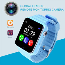 1.54 Inch Big Touch Screen Kids Smart Watch SOS Two Ways Talk Waterproof Swimming Health Fitness Smart Watch Wristband Camera