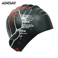 2017 High Stretch Men and Women Swimming Hat Particle Swimming Caps Pool Wear Protect Ears Durability Unisex Bathing Cap(China)