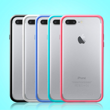 Rosany Original Silicone Hybrid Bumper For iphone 4s Case Soft Cover Skin Frame for apple 4 4s SE 5 5S 6 6s 7 Plus Phone Cases