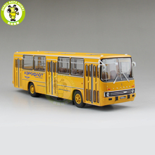 1/43 Classic Ikarus 260 Soviet Union Airlines City Bus Coach Diecast Model Car Bus Kids Children Gift Collection Hobby Yellow(China)