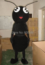 Brand New Black Ant Insect Cartoon Mascot Costume, Outfit Complete, Delivery Quickly,Free Shipping(China)
