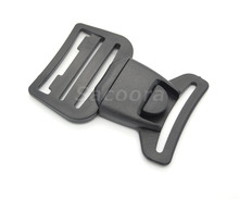 "12pcs/pack Pack 1-1/2""(40mm) Webbing Center Release Buckle Plastic for Hiking Camping Bags"