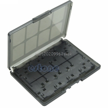 18 in 1 Game Memory Card Holder Case Storage Box for Sony PS Vita PSV White/Black #H029#(China)