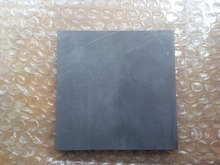 100x100x30mm high strength graphite plate for industry