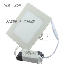 1pc LED Dimmable Panel Light 3W/4W/6W/9W/12W/15W/25W Square Recessed Dimmable LED Ceiling Light Down Light with driver