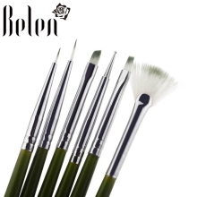 Belen 6Pcs/lot Nail Art Design Brush Pens Madicure Painting Drawing Tools Dotting Pen Gel Nail Polish DIY BrushES Set Kit