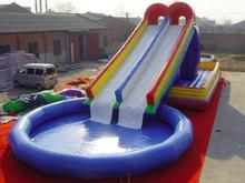 High quality PVC Swimming Pool Inflatable Water Swimming Pool Slide(China)