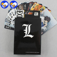 A TOY A DREAM 54 pcs/pack Anime Grim Reaper & Death Notes & Natsume & Tokyo Ghoul figure Collection Poker Game Cards Toy