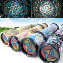 30cm Big Size Plastic Stretchable Magic Kaleidoscope Kids Children Educational Toy(China)