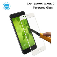 For Huawei Nova 2 Premium Tempered Glass Steel Film Scratch-proof Protective Glass For Huawei Nova 2 Mobile Phone Accessories