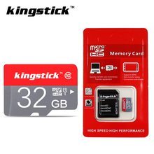 2017 Crazy Hot Kingstick micro sd card Red mini TF memory card 4GB 8GB 16GB 32GB microsd real capacity with retail package