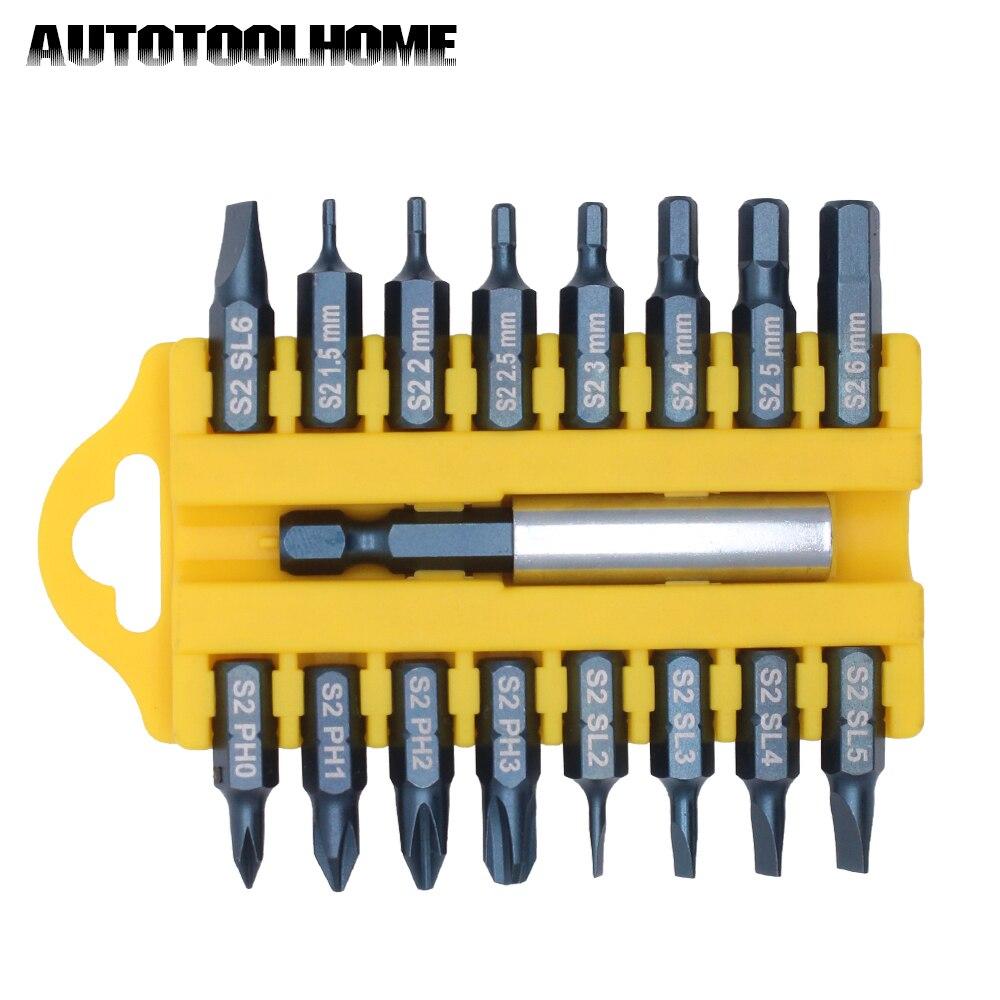 PH0//PH1//PH2 Phillips S2 Steel Round Shaft Magnetic Tip Screwdriver