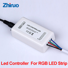 LED Controller Neon Light 5050 SMD LED 12v Strip Plug LED Strip Accessory Remote Control Power Supply Plug(China)