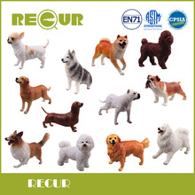 Recur Toys High Quality Puppy Dog Pet Delicate Model Hand Painted PVC Soft Animal Action Figure Toy Collections For Children(China)