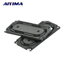 Aiyima 2pcs Speaker Bass Vibration Membrane Bluetooth Stereo Passive Bass Diaphragm Plate(China)