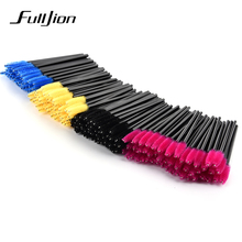 50Pcs one-off Disposable Eyelash Brush Cosmetic Makeup Tool Mascara Wands Applicator makeup Brushes eyes make up styling tools