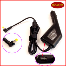 Laptop DC Power Car Adapter Charger 19V 3.42A + USB Port for Acer Aspire 3650 3651 3660 3661 3680 3690 5920 1695 1202
