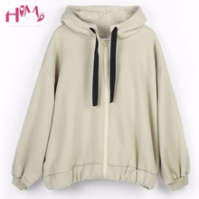 Buy Autumn Women Fashion Korean Style Hooded Thicken Long Coats Letter Print Loose Batwing Sleeve Casual Arbitrary Combination Coats for $35.48 in AliExpress store