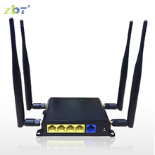 English version firmware ZBT WE826 dual band 11ac wireless router 3g 4g openwrt modem wireless wi fi router with SIM card slot(China)