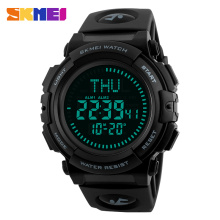 SKMEI Men Compass Sports Watch Countdown Summer Time LED Digital Military Watches Multifunction Wristwatches Relogio Masculino