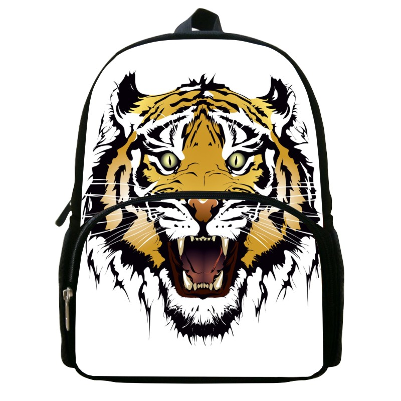 12-Inch Fashion Animal Style Tiger  Student School Bags Children School Backpack For 1 - 6 Ages Shoulder BAG Kids Backpack xq181<br><br>Aliexpress