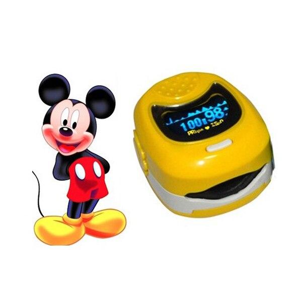Approved Kids Pediatric Pulse Oximeter Oximetro De Dedo Oxygen Saturation SPO2 Monitor for Baby Child Adult cartoon oximtor FDA<br>