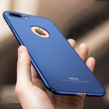 6s Luxury Full Body Hard PC Frosted Back Cover Case for iPhone 7 7 Plus Thin Bag Fundas Case For Apple iPhone 5 5s SE 6s Plus