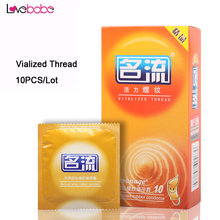 Personage 10 Pcs/Lot Hot Sale Of Delay Latex Condoms Top Quality Sex Products  Adult Better Sex Toy Safer Contraception For Men