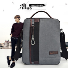 Men Bag Small Crossbody Shoulder Messenger Business Briefcase  High Quality Black Canvas Bag Men Satchel Handbags Trends 2017