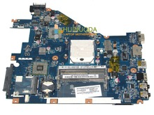 laptop motherboard for Acer aspire 5552 PEW96 LA-6552P Mother Board AMD SOCKET S1 DDR3 Mainboard MBR4602001 with free cpu