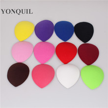 Multiple colors 11CM teardrop fascinator base millery cute base DIY wedding hair accessories party hats hairstyle material(China)