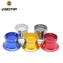 Free shipping ZSDTRP 5 colors 50 mm air filter interface cup aluminium alloy universal used at 28 30mm motorcycle carburetor(China)