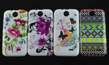 new fashion Flower Floral Butterfly Jelly fish USA Flag TPU Silicone Soft case cover skin For HTC Desire 310 D310W